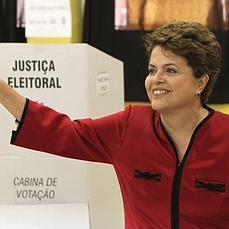 virtual ganadora Dilma Rousseff que cuenta con todo el apoyo de Lula