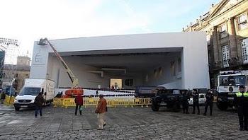 Santiago de Compostela se apresta a recibir a Benedicto en las próximas horas