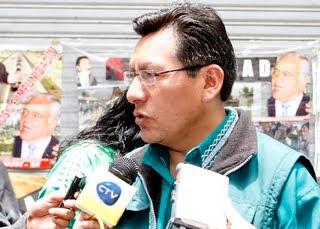 pobre René ahora es víctima del MAS. no le tolera Evo que hubiese ganado la Alcaldía de Potosí