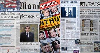 WikiLeaks escogió cinco grandes diarios de EEUU, Francia, Inglaterra, Alemania y España