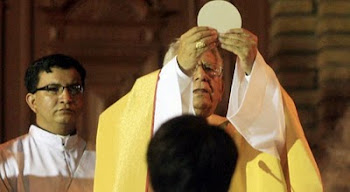 la voz del pastor respaldó al obispo. no temas. no te desanimes. la verdad tiene que brillar