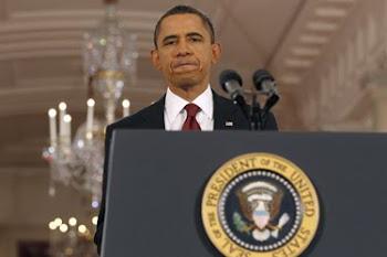 aclamado por propios(demócratas) y extraños (republicanos) el Presidente Obama habló durante 60 min