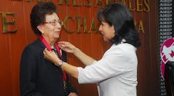 Gloria Sánchez de Barrientos precursora en la administración de Aduanas