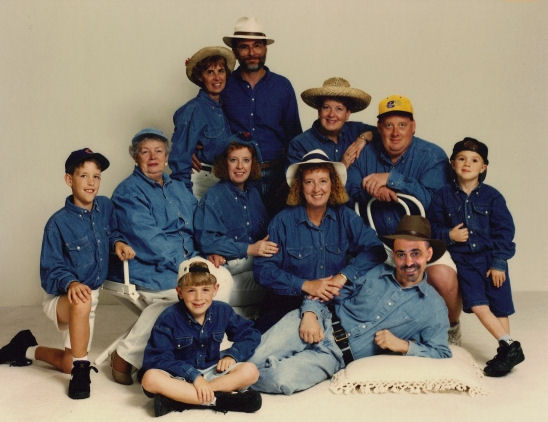 Dean and the denim family