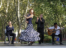 Laura Montes of Flamenco Vivo Carlota Santana