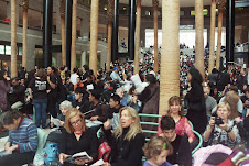 Packed Audience at the Winter Garden