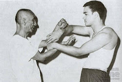 Bruce Lee with GGM Ip Man