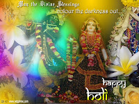 Radha Krishna Holi Wallpapers