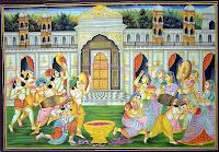 krishna radha holi pictures