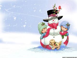 Snowman desktop wallpaper and backgrounds