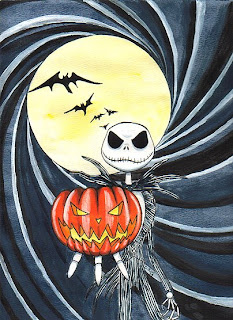 The Nightmare Before Christmas Halloween Wallpaper