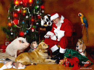 Download Christmas Dog Wallpapers
