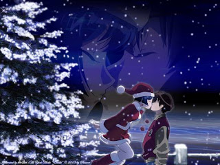 Free Romantic Christmas Wallpapers