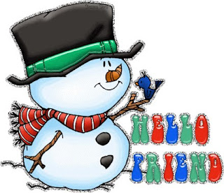 Cute Snowman Myspace Background