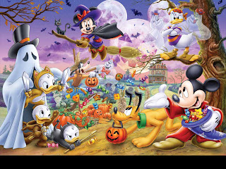 Disney Halloween Desktop Wallpapers