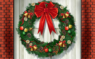 Christmas Wreath Wallpapers