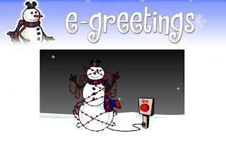 Free Snowman Greetings
