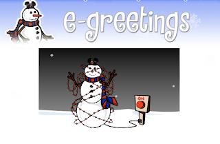 Free Snowman Greetings