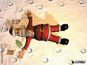 Funny Santa Wallpapers