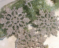Glittering Snowflakes Ornament Pictures