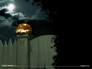 happy halloween night wallpaper