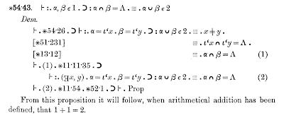 Demostració que 1+1=2