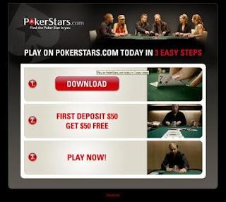 страница для скачивания Pokerstars