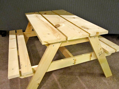 plans for kids picnic bench