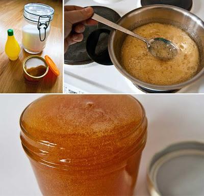 homemade sugaring wax