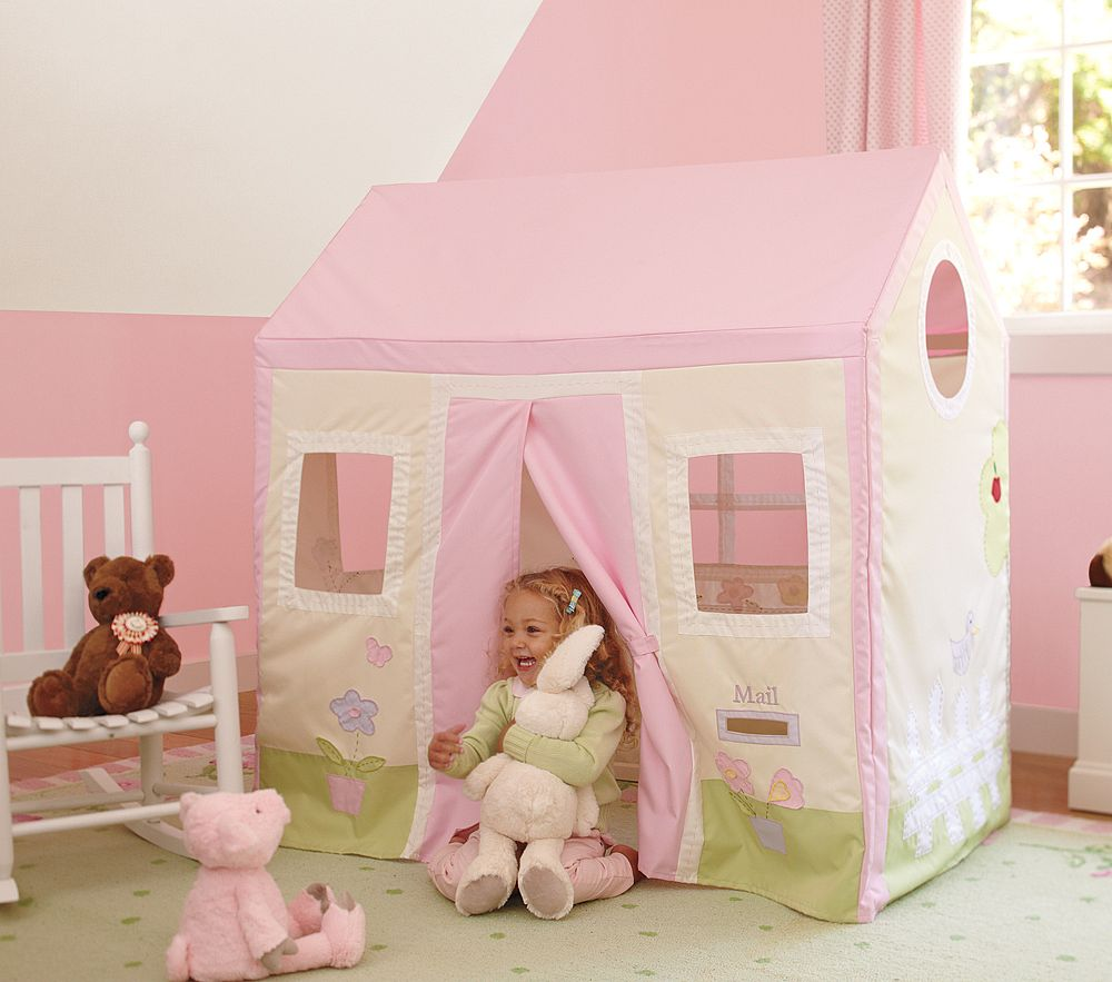pottery barn playhouse & Bird and Berry: Pottery Barn Kids Playhouse Lookalike