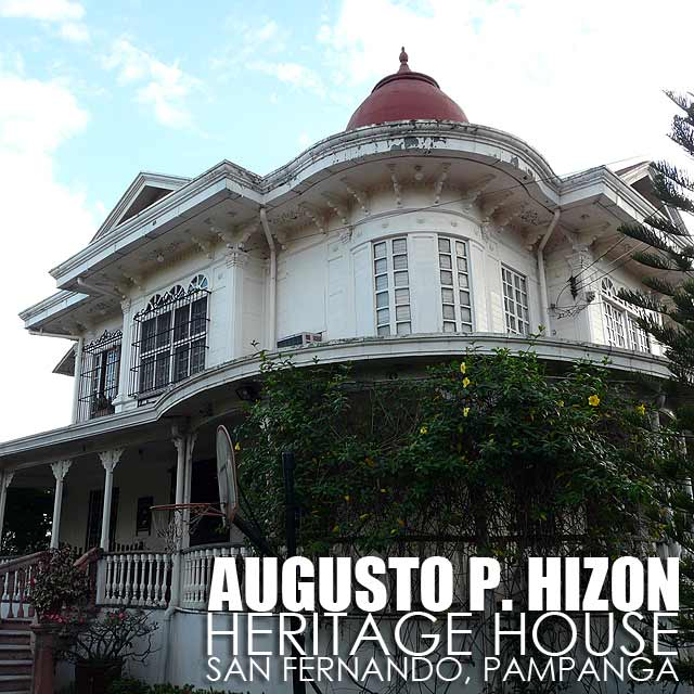 San Fernando (Pampanga) Philippines  city pictures gallery : Pampanga: Augusto P. Hizon House in San Fernando now a Heritage House ...