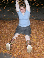 Me in the leaves!!!