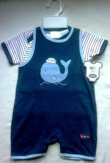 Baju Jumper/overall bayi laki-laki branded Cutie Kids