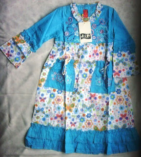 Baju Muslim anak-anak perempuan 2