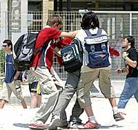Peleas de estudiantes