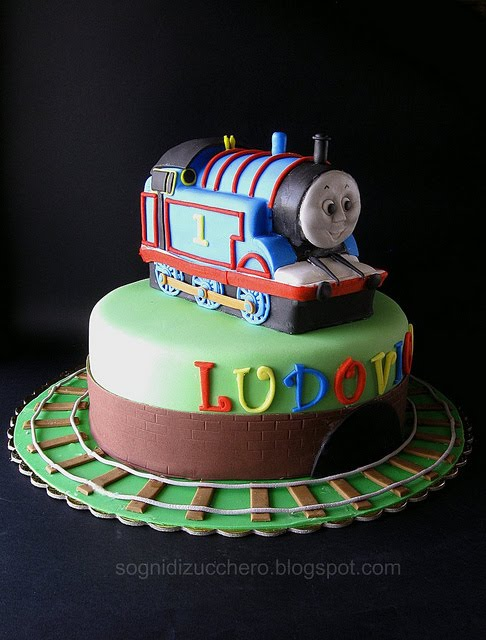 Train Birthday Cake To Buy