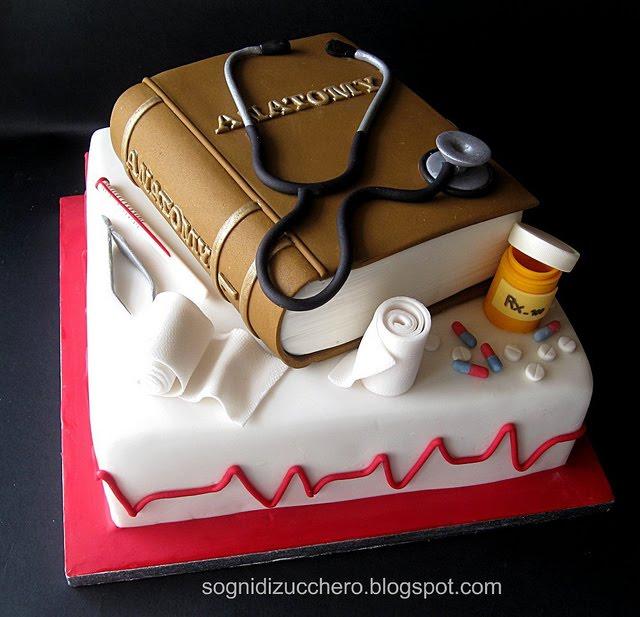 Birthday Cake Design For Doctor : sogni di zucchero: Nurse cake