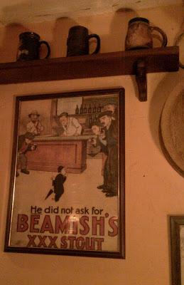 Реклама Beamish's XXX Stout