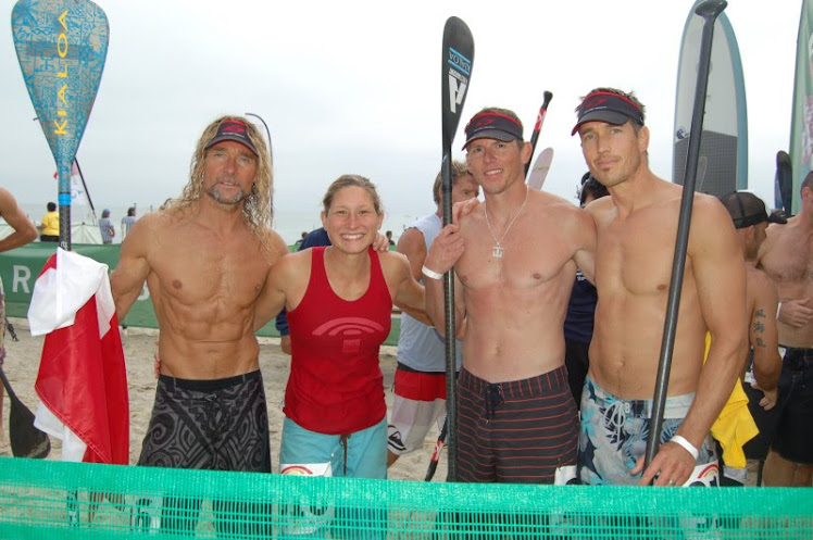 Team Canada at Battle of the Paddle, California