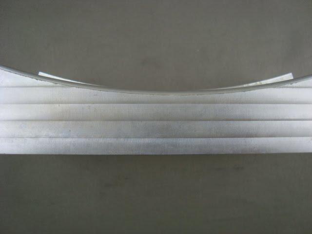 the finished part bead blasting aluminum