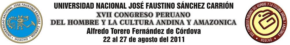 XVII Congreso Peruano del Hombre y la Cultura Andina y Amazónica
