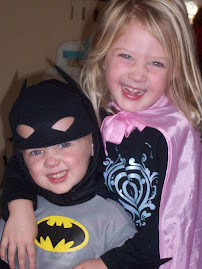 Laurie and Jack Halloween super heros