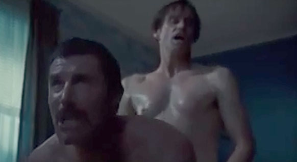 Jim Carrey GAY sex scene o_O