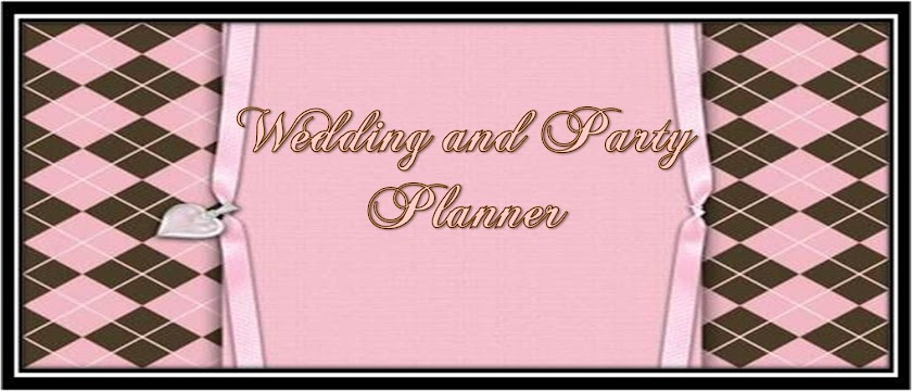 Wedding and Party Planner