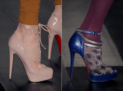 Fashion High Heels Boots 2010 on Louboutin Shoes Winter 2009 2010