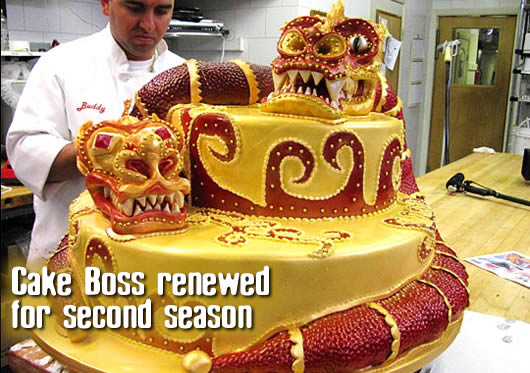Cake Boss, an 'Ace of Cakes'-like series is centered around a New Jersey