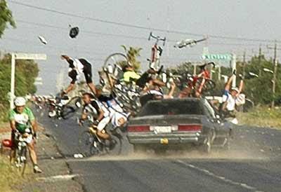 car bike crash