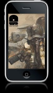world war robot iphone