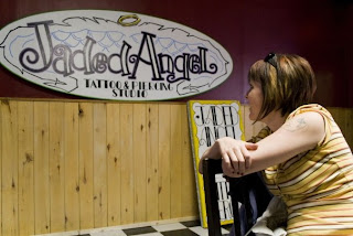 Wordless Wednesday:Jaded Angel Tattoo and Piercing 2