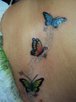 Tatto Borboleta on Art Sapiens Tattoo Studio  Recife   Borboletas